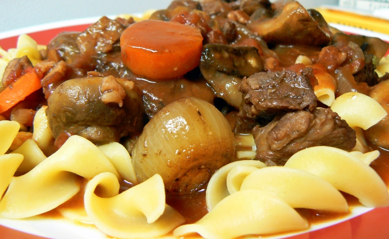Boeuf Bourguignon, Boeuf a la Bourguignonne (Beef Stew in ...