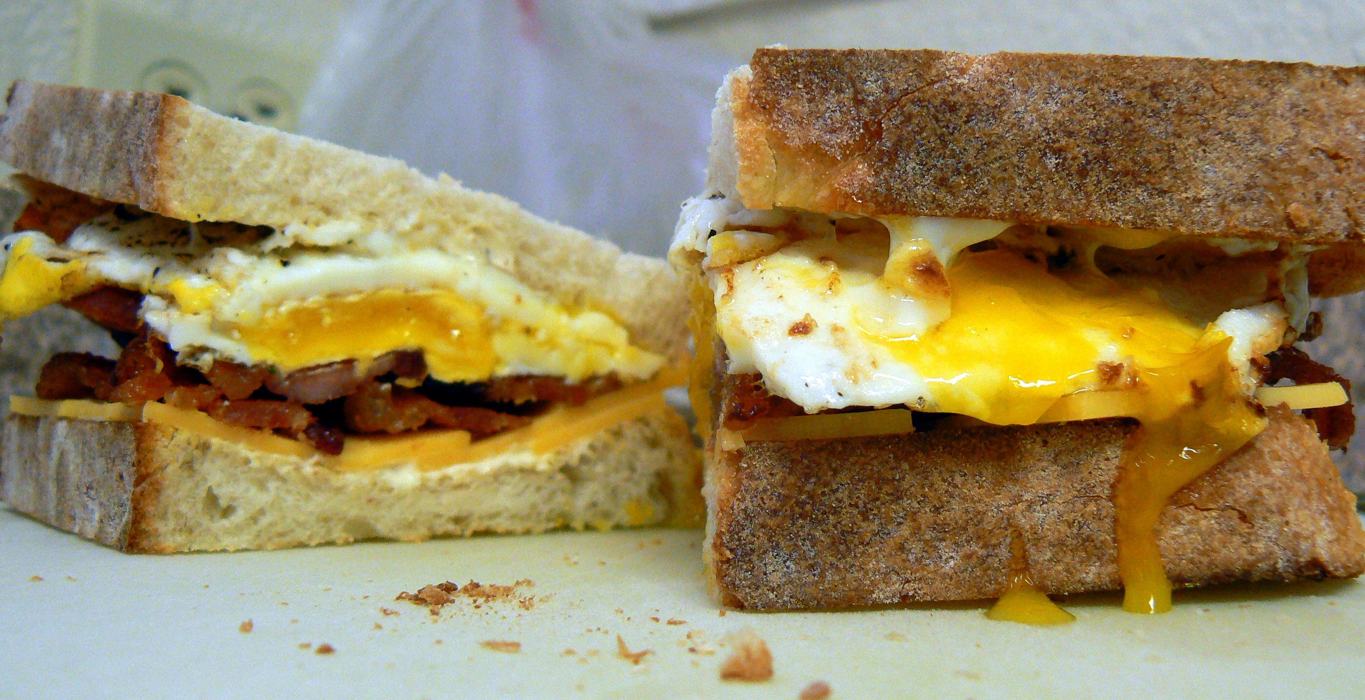 Bacon, Egg, Cheese Sandwich – Crazy Jamie