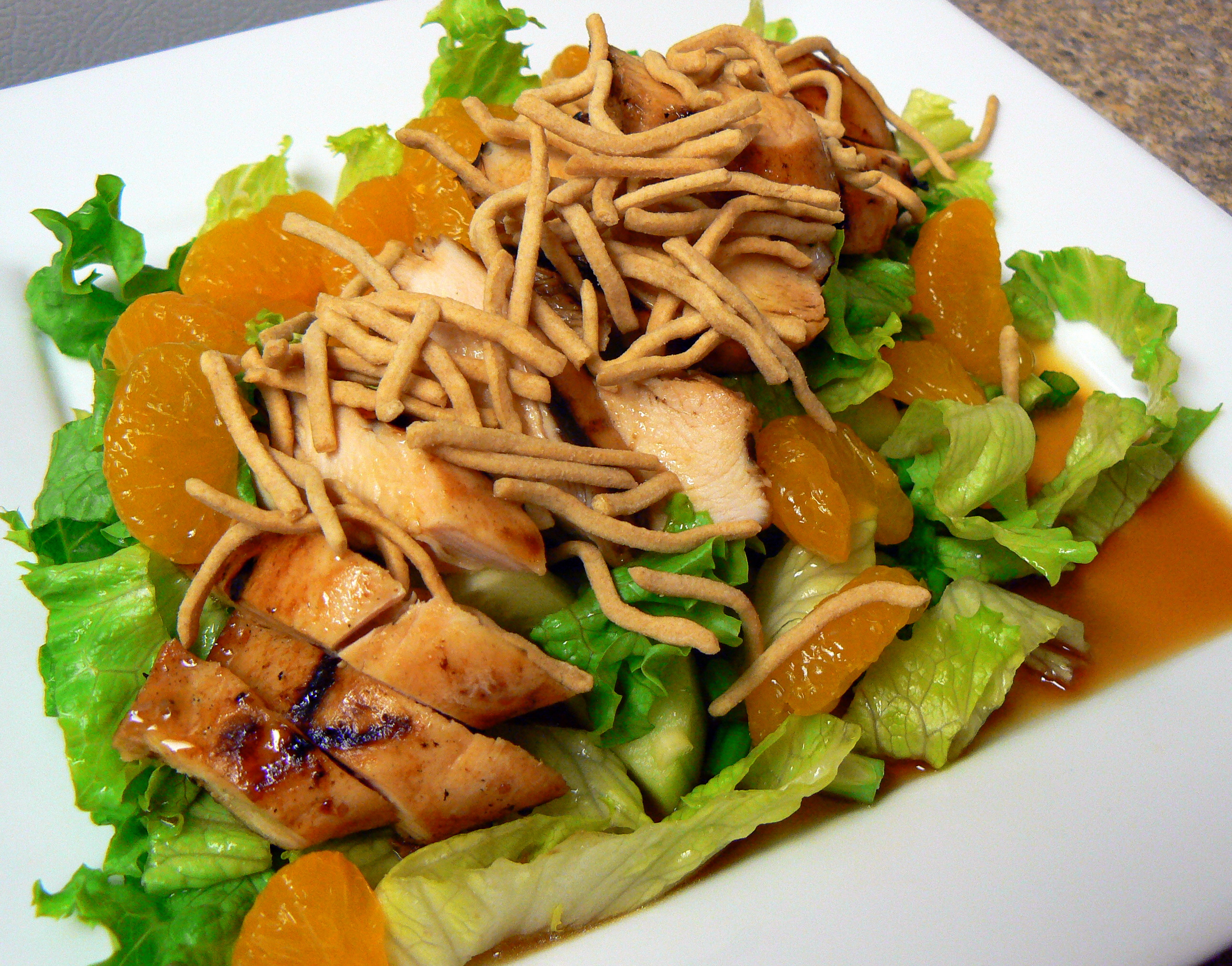 ... noodles, then drizzle with Wish-Bone Light® Asian Sesame Ginger